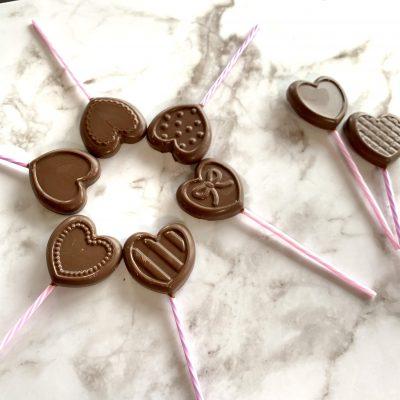 【バレンタイン】簡単なのにちょこっと豪華に見える手作りロリポップチョコ