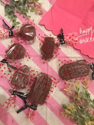 【セリア】ラッピングで♪簡単お洒落手作りバレンタイン