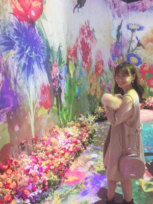 日本橋で日本一早いお花見が出来る♪